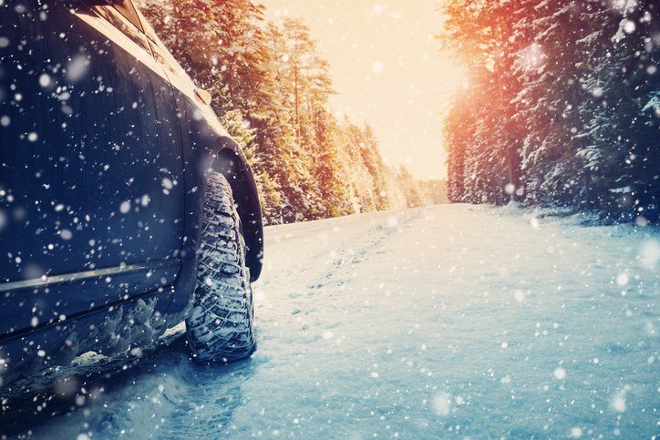 Winter, Driving, Ice, Snow